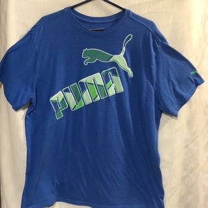 Blue Puma T-Shirt